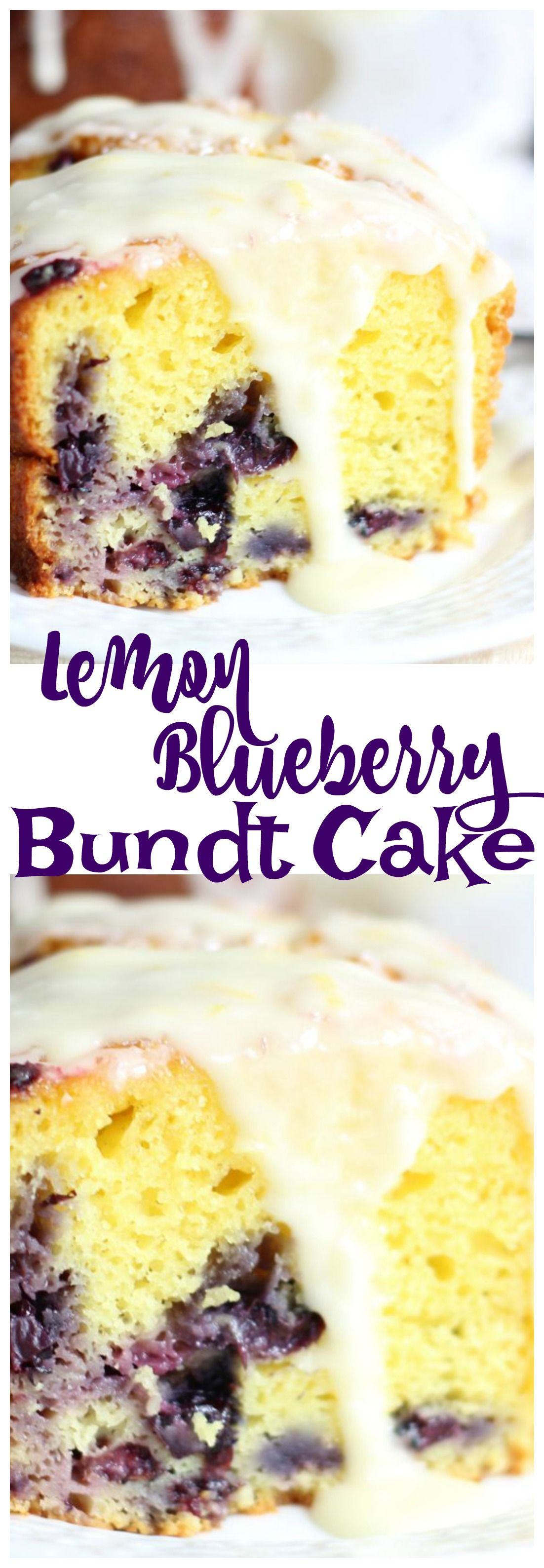 Lemon Blueberry Bundt Cake pin 2