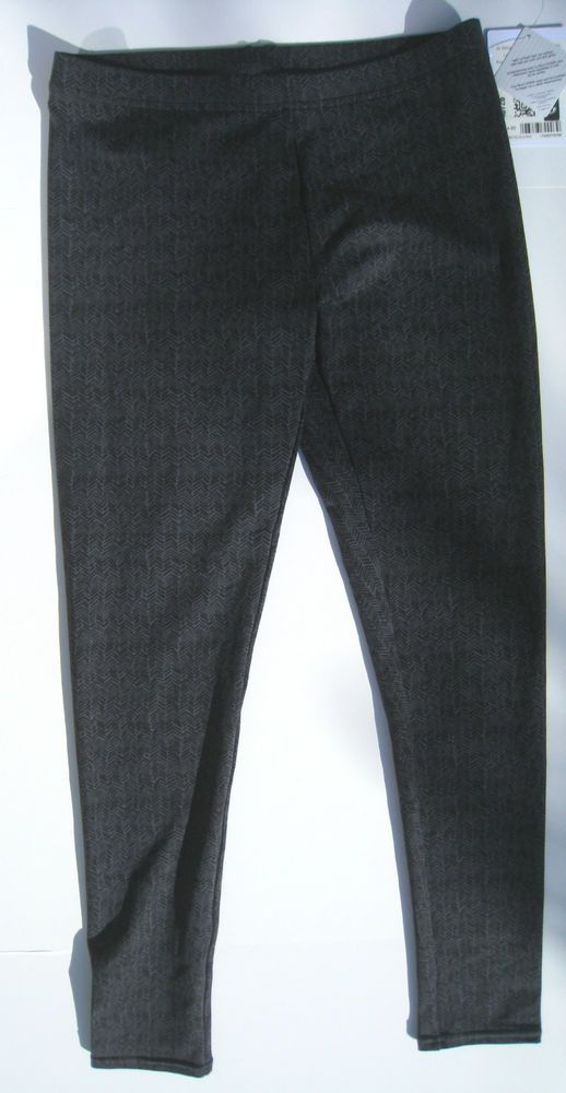 Athleta Herringbone Finesse Leggings Grey Black M NWT #Athleta #PantsTightsLeggings