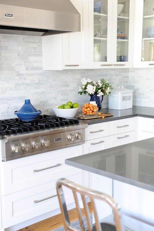 30 Lovely White Kitchen Backsplash Design Ideas Coodecor Kitchen Remodel Kitchen Design Kitchen Inspirations