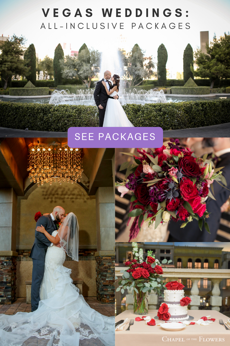 Las Vegas Wedding Packages All Inclusive.Celebrate Your Love By Getting Married In Las Vegas With An