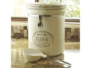 10 Lb Fresh Valley Farms Flour Canister By Chefs Flour Canister Airtight Canisters Sugar Container