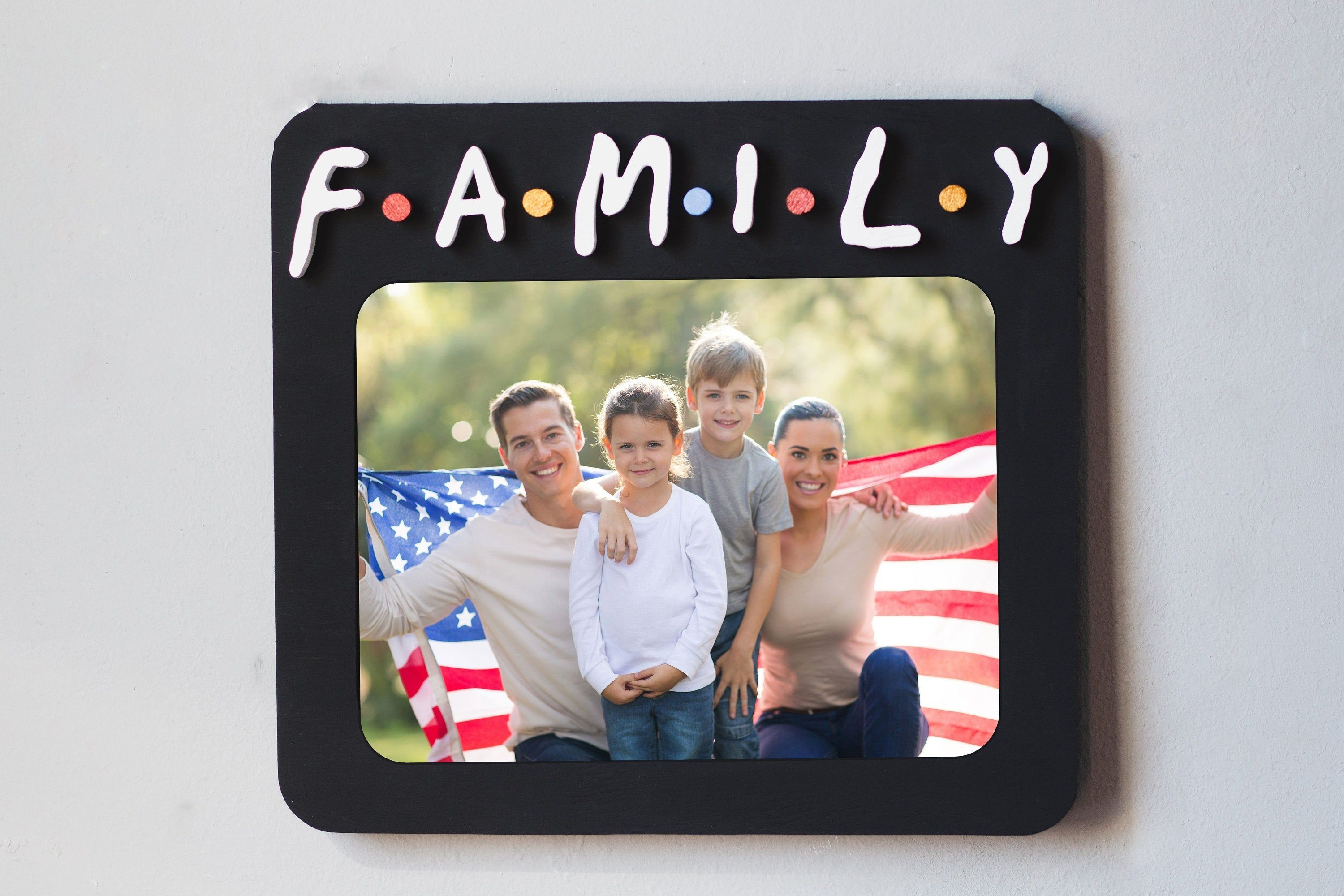 Friends tv Show Picture Frame Family Photo Family Gift ...