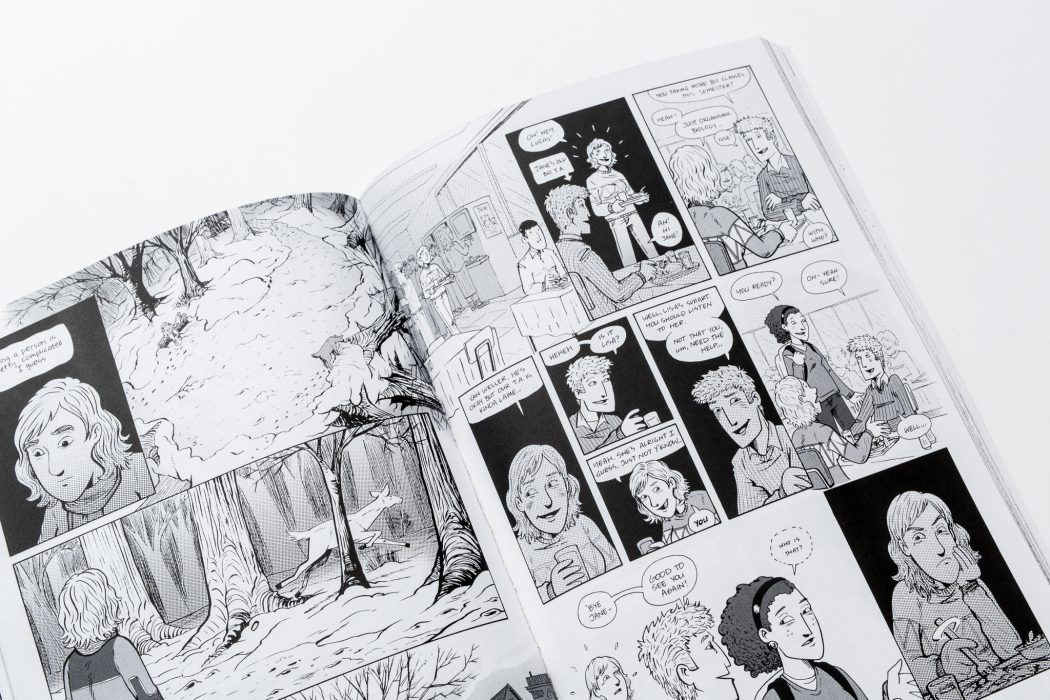We Print Many Graphic Novels At Bookmobile With Both Black Ink Only And