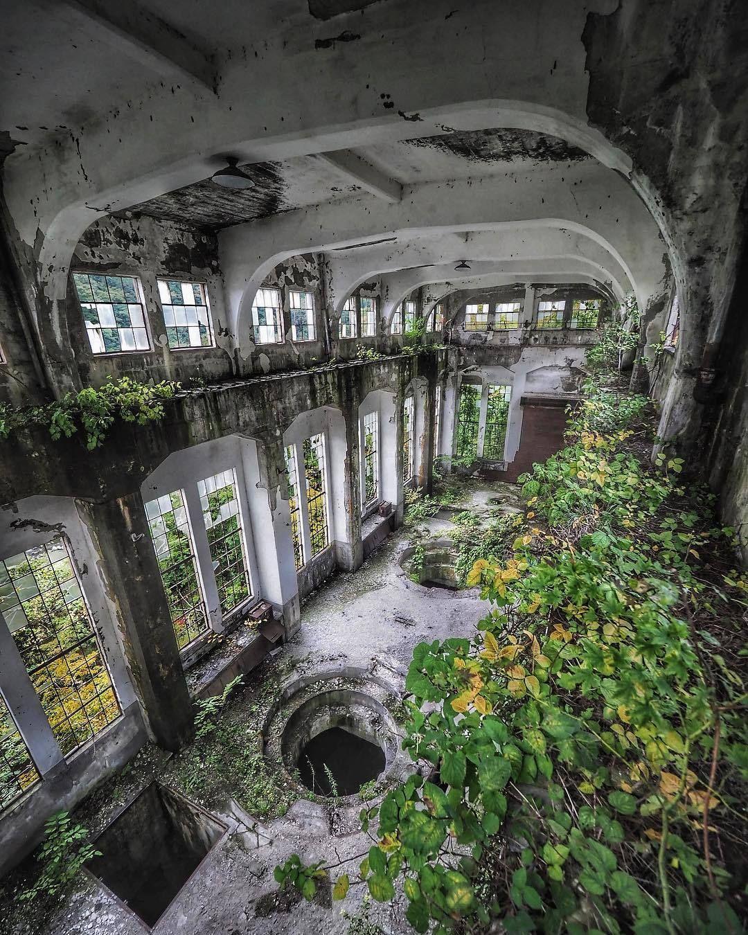 "Abandonedandurbex:""Abandoned Hydroelectric Power Plant"