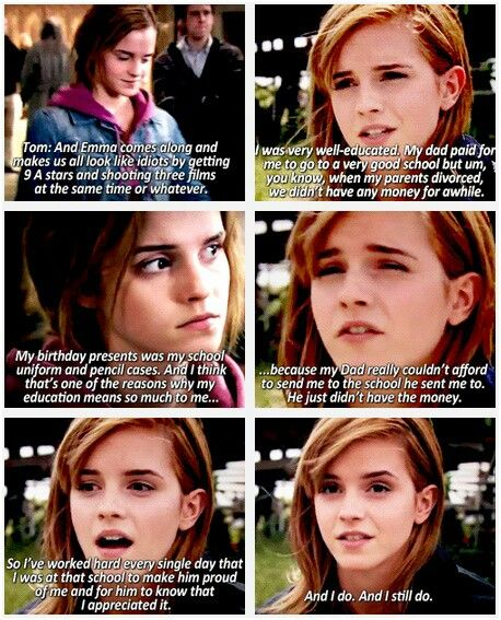 She is Hermione