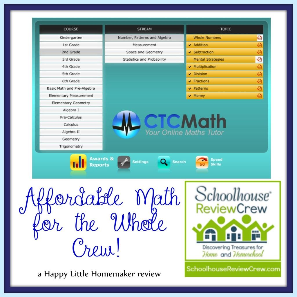 Wish math didn\'t take up so much of YOUR time? Check out CTC Math ...