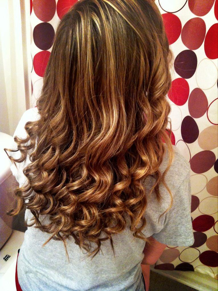 perfect spirals. | Hair styles, Long hair styles, Hair