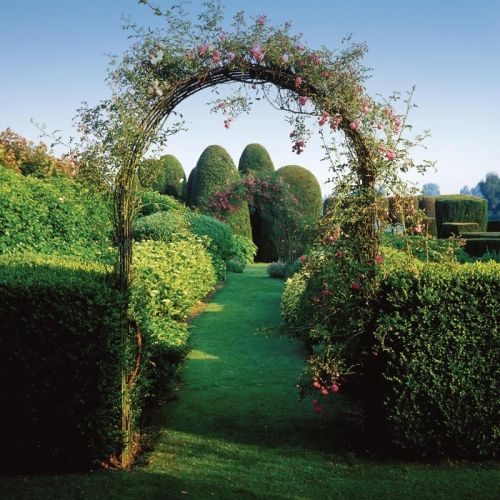 Wirework Arch Perfect For Trailing Plants And Flowers Large Garden Arches