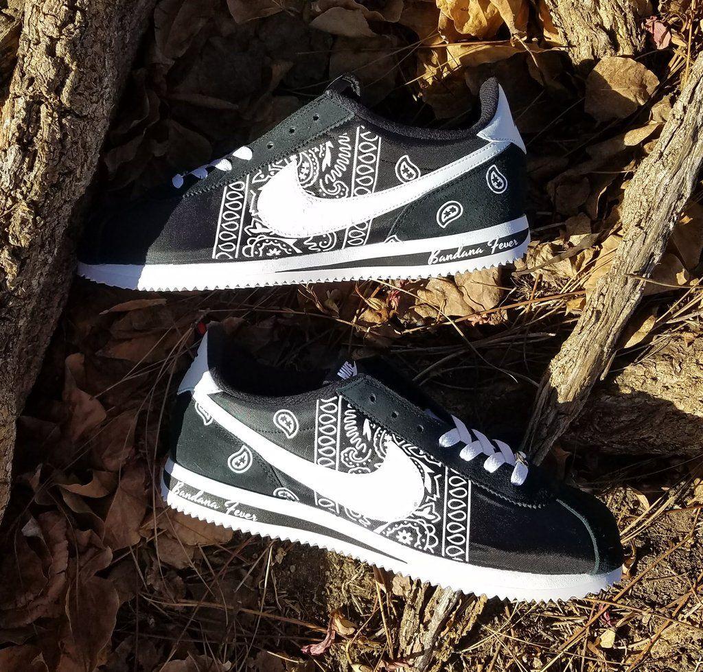 Customized Nike Sneakers, Men's, Black