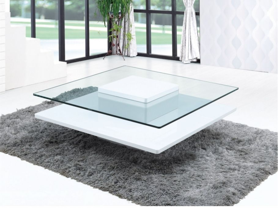 table basse en verre trempe asnia