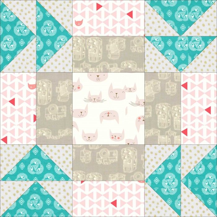 Sew What Sherlock Conversion Project Apple Pie Block Free