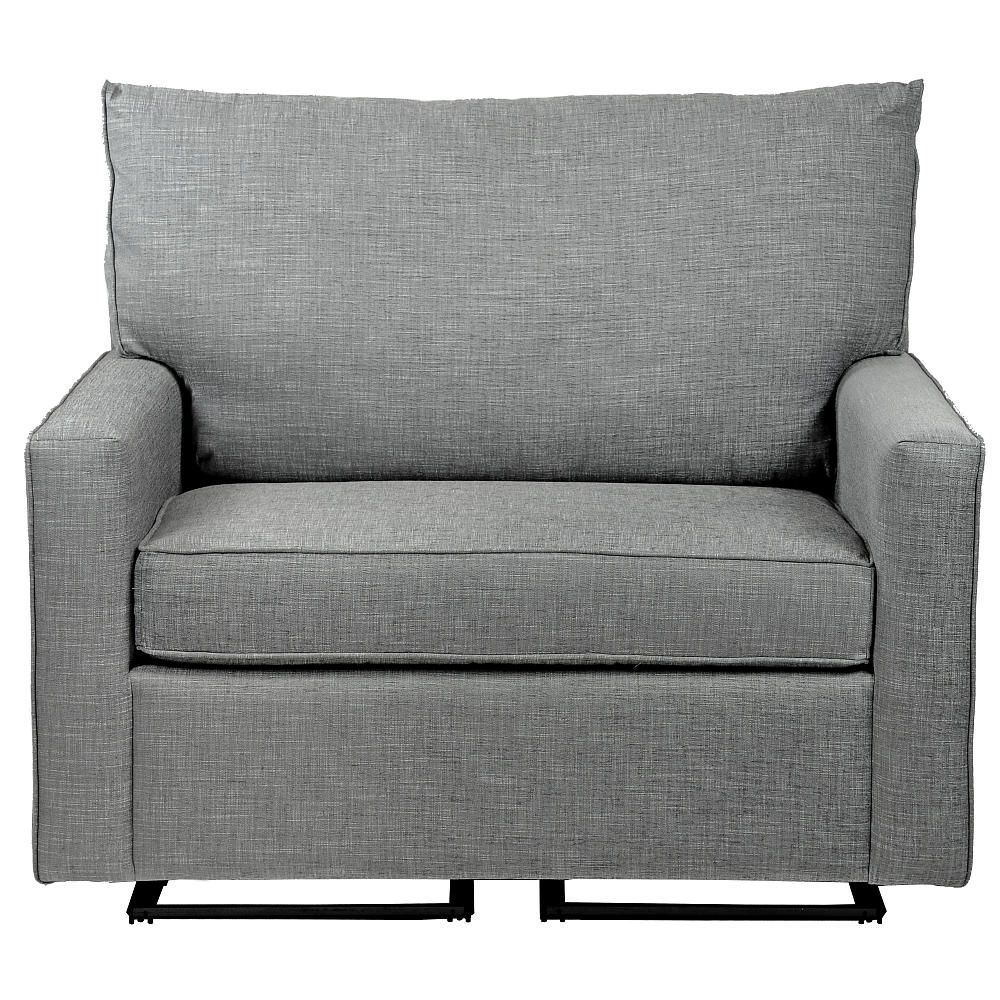 Welcome The Sophie Glider And A Half By Little Castle Into Your Home Amp Nbsp This Extra Wide Glider Allows Sitting Room For More Hunter Room Decor Love Seat