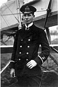 Reginald Warneford - The young British pilot who brought down the first German Zepplin.