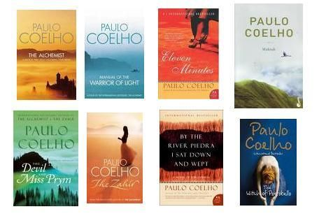 Paulo Coelho - can't get enough of his stuff