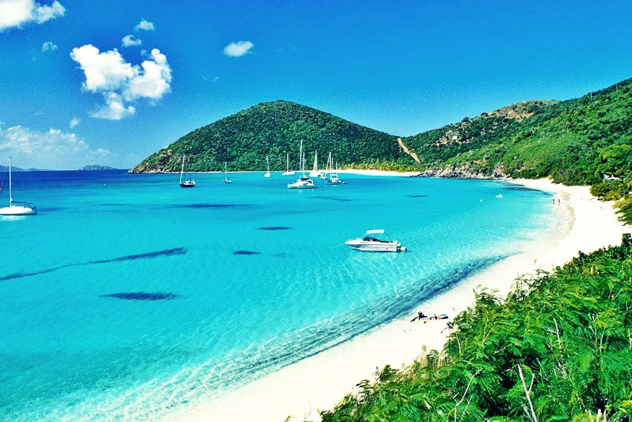 Trapp beach virgin islands