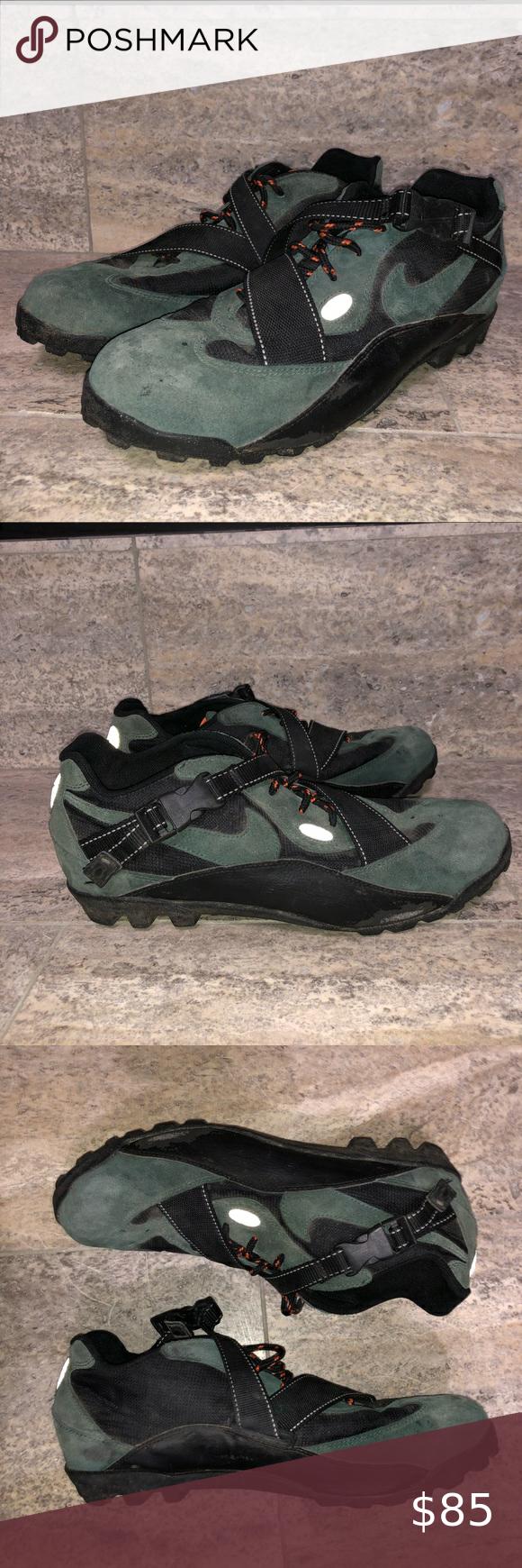 por favor confirmar Nominal Lágrimas  Rare Vintage 90s Nike ACG 951101 Y2-3 Green Suede Rare Vintage 90s Nike ACG  951101 Y2-3 Green Suede Mountain Bike Shoes Cleats Size:… | Green suede, Nike  acg, Suede