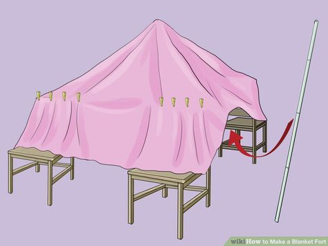 60+ Ideas How To Build A Fort Step By Step With Blankets