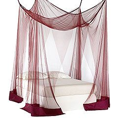 Canopy For Bed mesh bed canopy : bedding & throws : pier 1 imports | home decor