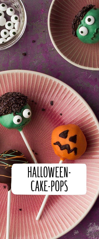 Halloween Cake Pops Rezept (mit Bildern) Kuchenlolli