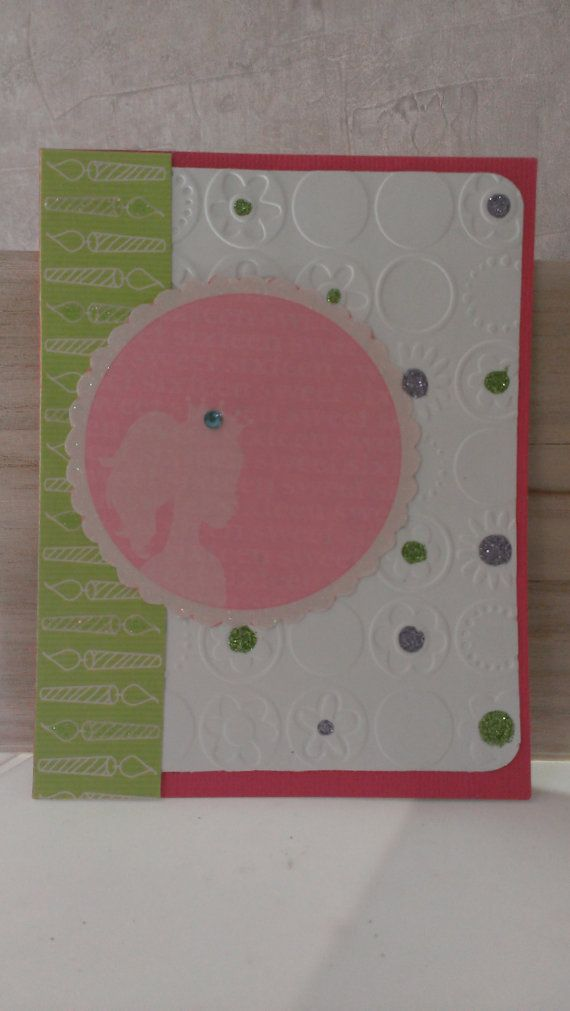Sweet 16 Birthday Card Handmade Greeting By Jennrainescreations