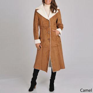 ccf5c053d Pin by Regan-lynn Piche on Fashion | Faux shearling coat, Coat ...