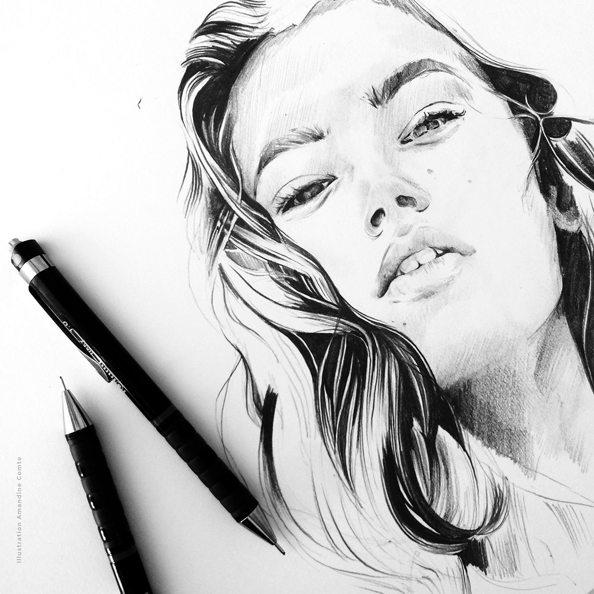 Ink & Pencil #5 on Behance