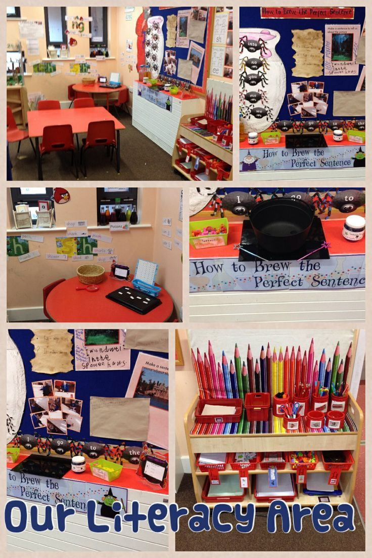 Setting Up A Letter Writing Station To Santa For School