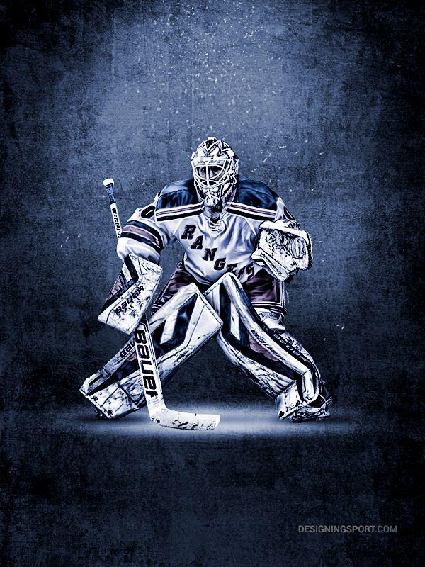 Sport Art Design Designing Sport New York Rangers Henrik Lundqvist Ranger