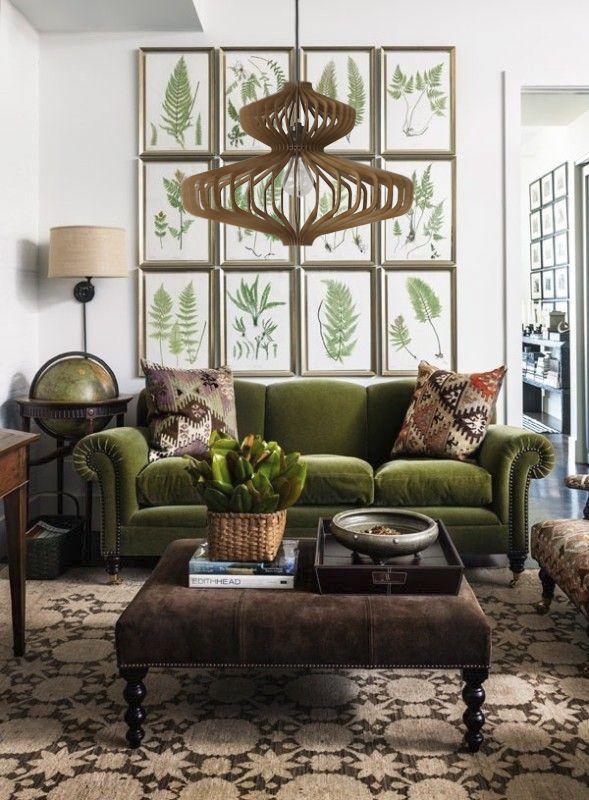 17 sage green living room decor inspiration ideas