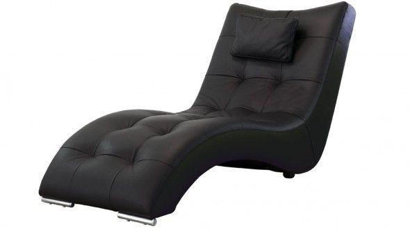 Rivoli Chaise Longue En Cuir Pour Une Relaxation Optimale Fauteuil Cuir Design Fauteuil Relax Cuir Fauteuil