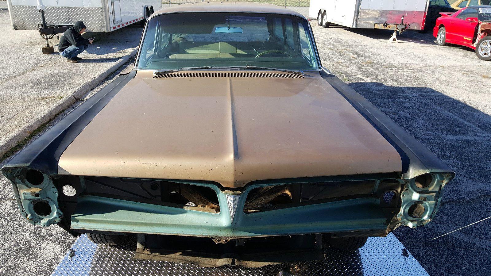 1963 Pontiac Catalina Safari Wagon Project Project Cars For Sale