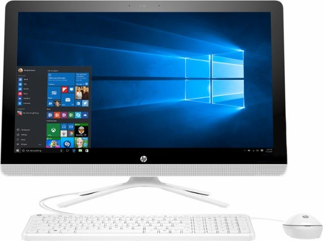Hp 23 8 Touch Screen All In One Intel Core I3 8gb Memory 1tb Hard Drive Black White Front Z Laptop Computers Technology Best Computer Lcd Monitor