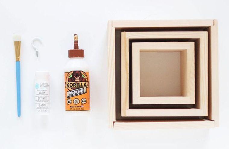 Porte clé mural à faire soi-même  6 tutoriels de DIY décoration