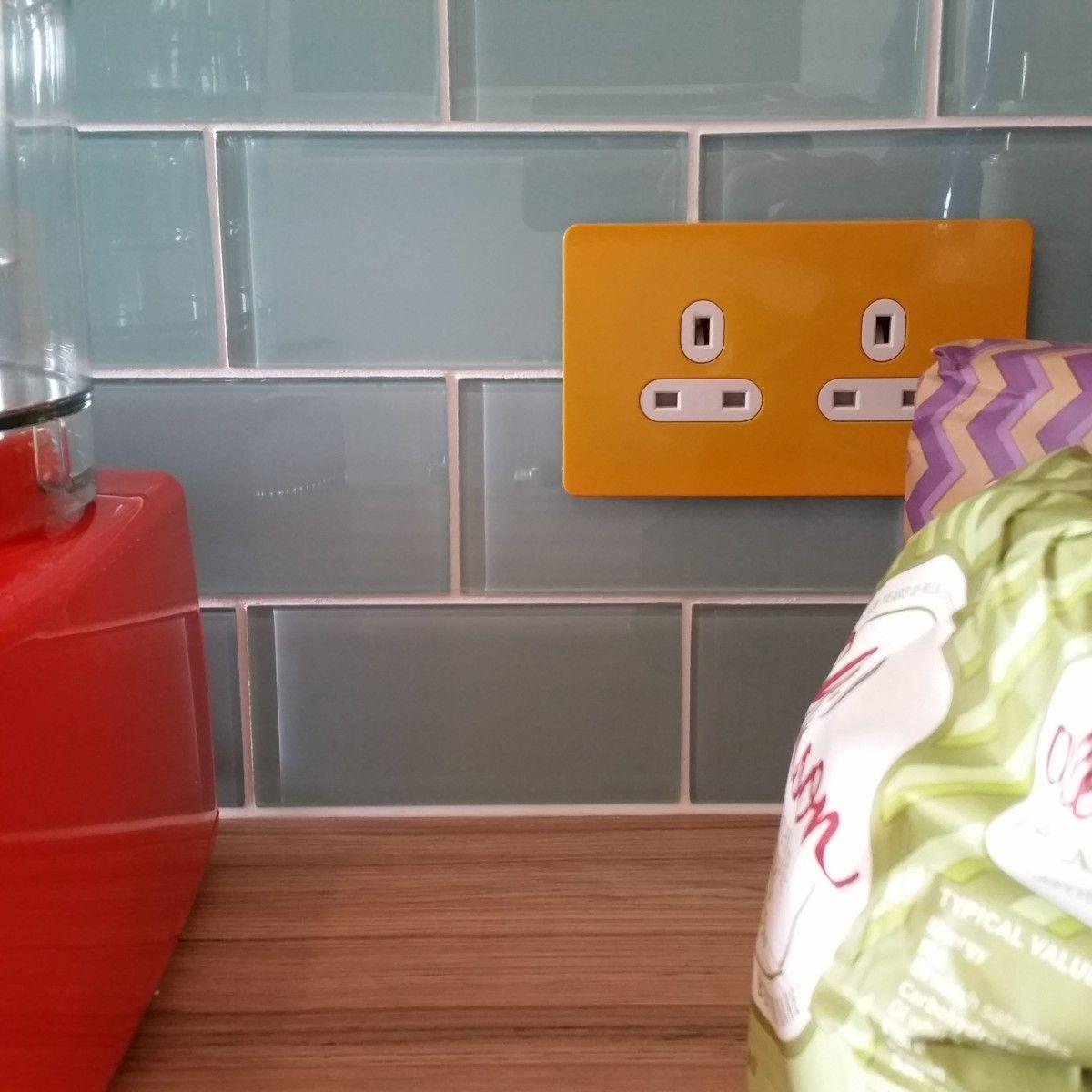 blue glass metro tiles uk supplier – too jazzy | garrick house