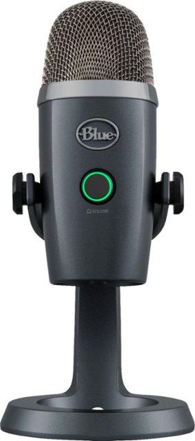 Blue Microphones Yeti Nano Usb Condenser Microphone 988 000088 Best Buy Blue Microphones Microphone Usb Microphone