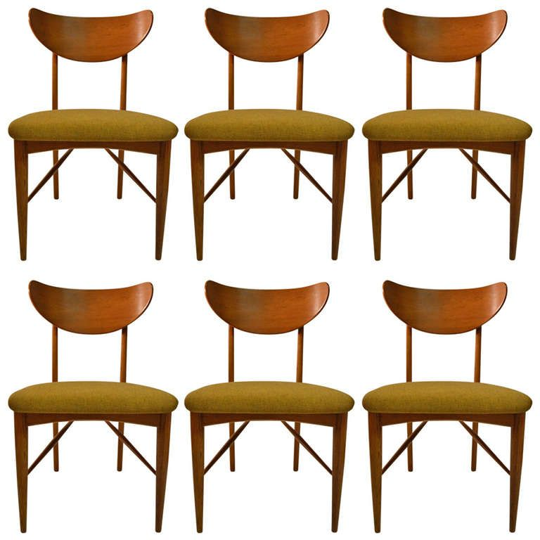 Set Of Six Copenart For Morganton Dining Chairs