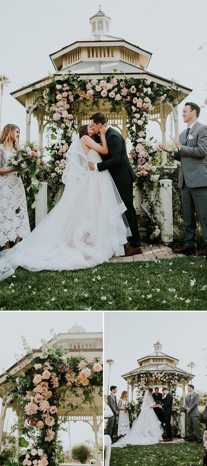 Floral Ceremony Arches for Every Wedding Style -   13 wedding Ceremony gazebo ideas