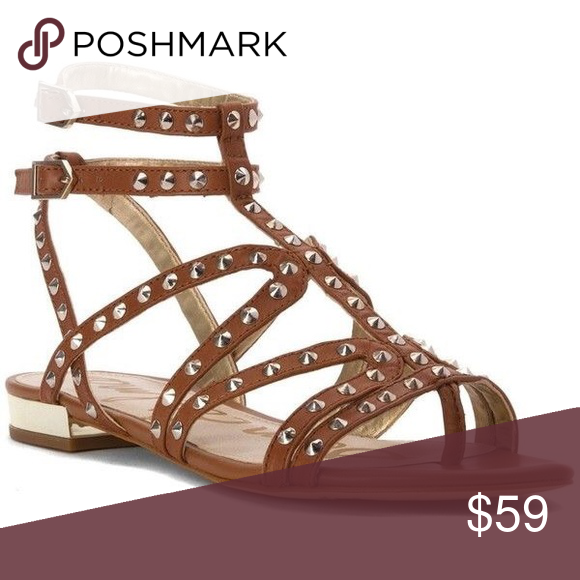 f1e93eb9a156 Just In‼️Sam Edelman Demi Studded Gladiator Sandal Preloved in Great  Conditions