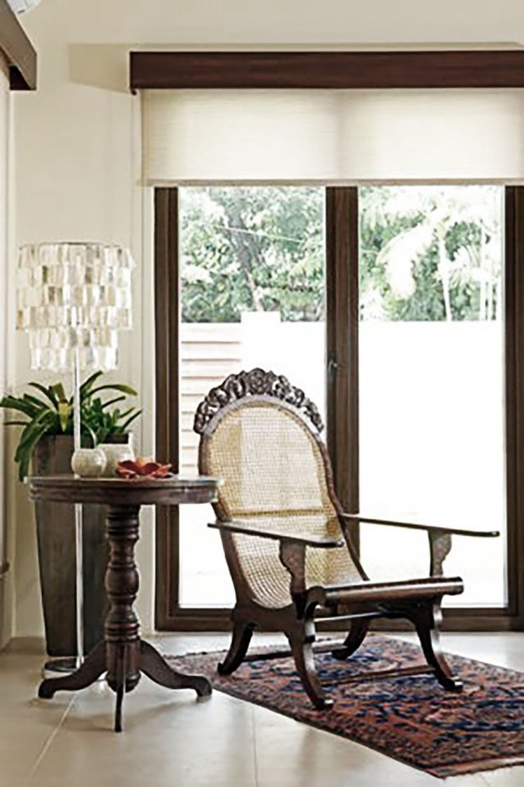 How to create a home with iconic Filipino furniture | Asian inspired ...