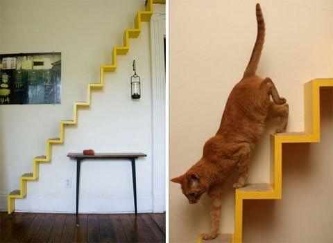 Mobili Per Gatti Ikea : Scale per gatti fai da te legno katzentreppe katzen treppe e