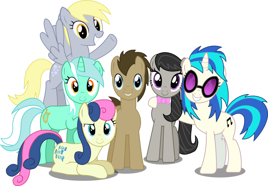Mlp Let The Background Mane 6 Remind You By