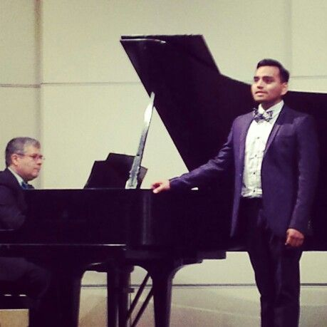 Ivan's junior recital SDSU