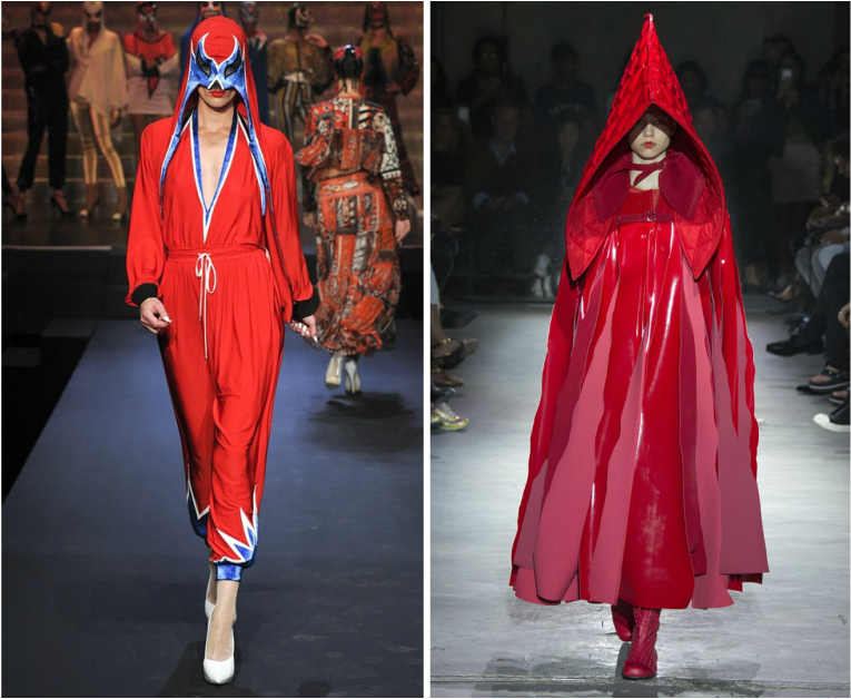 Halloween costume inspirations from high fashion (http://bit.ly/1MUVwVa) | Runway left-to-right: Jean Paul Gaultier, Commes des Garcons