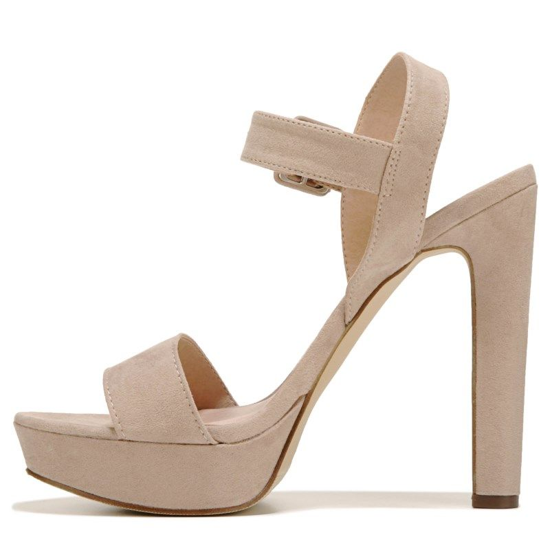 48163a936f0 Madden Girl Women s Rolloo Ankle Strap Sandals (Blush Microfiber)
