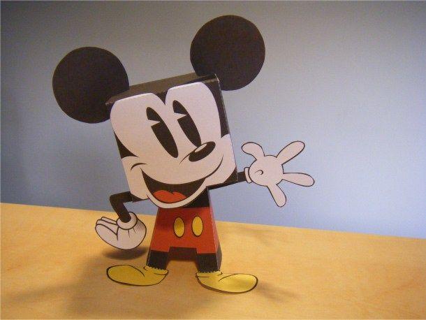 Imprimible de Mickey Mouse de Disney | Fet per tu/Hecho por ti/DIY ...