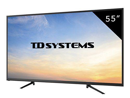 Televisor Led 4k Ultra Hd 55 Pulgadas Td Systems K55dlm7u Por 399