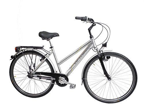 11 Inch Victoria Ladies Bicycle Trekking City Bike Sram 7 Speed