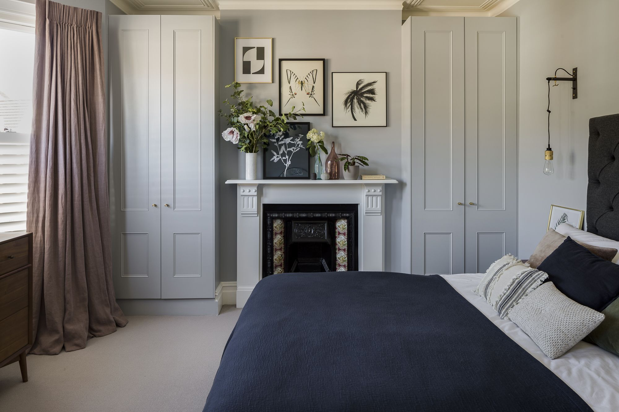 Interior Design By Imperfect Interiors At This Victorian Terraced House In Balham London A Palette Victorian House Interiors Home Bedroom Home Decor Bedroom