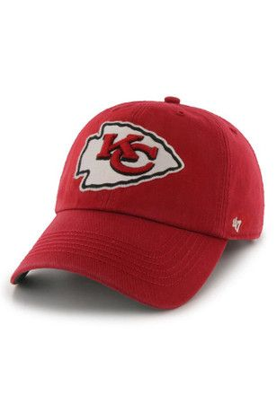 04562016 KC Chiefs '47 Mens Red 47 Franchise Fitted Hat | NFL - Kansas City ...