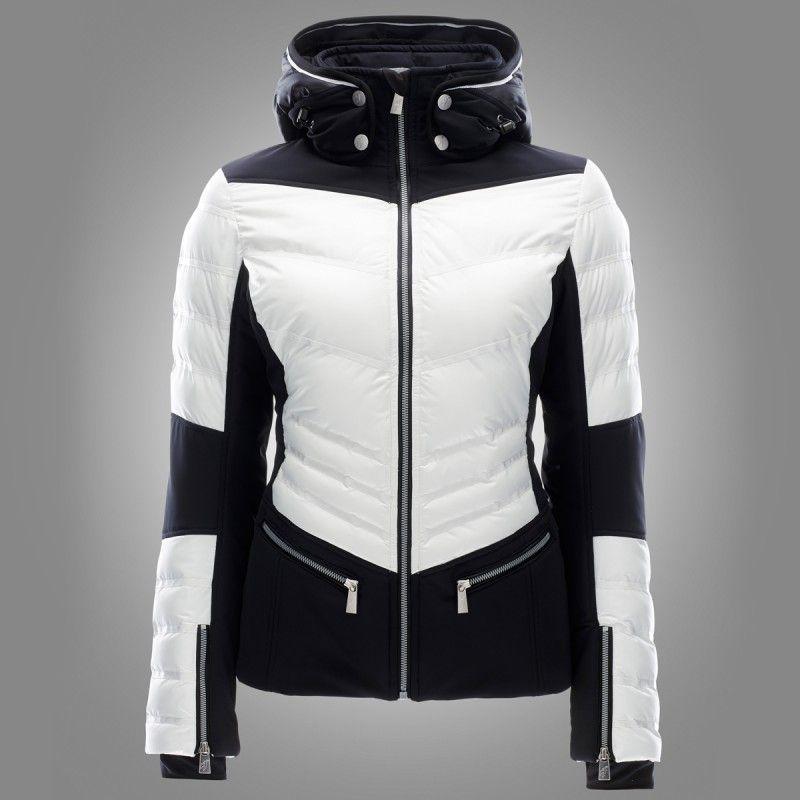 toni sailer ginger jacket bright white ski jackets for. Black Bedroom Furniture Sets. Home Design Ideas